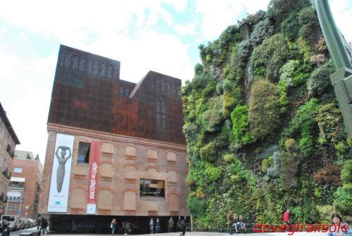Patrick blanc e il giardino verticale di madrid - Giardino verticale madrid ...